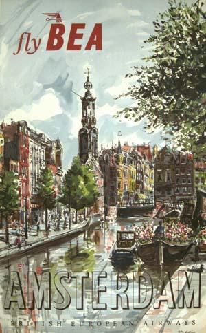 BEA Amsterdam circa 1954