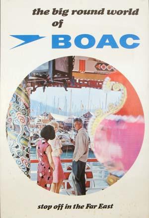 BOAC Far East circa 1970