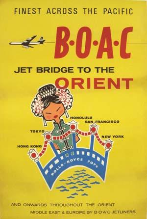 BOAC Orient circa 1960