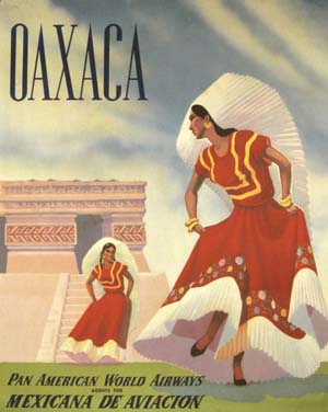 Pan Am Oaxaca circa 1950