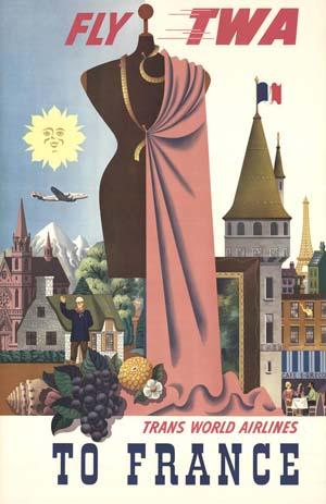 TWA France circa 1960