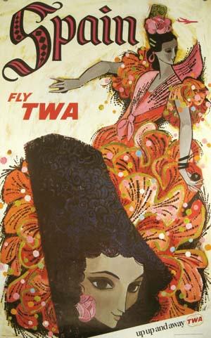 TWA Spain circa 1960